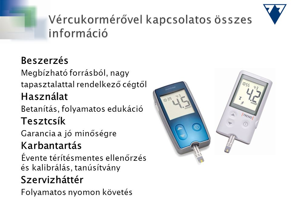 Vércukormérővel kapcsolatos összes információ