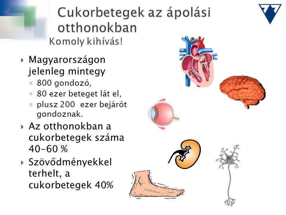 Cukorbetegek az ápolási otthonokban Komoly kihívás!