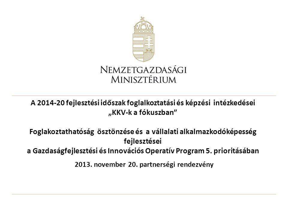 2013. november 20. partnerségi rendezvény