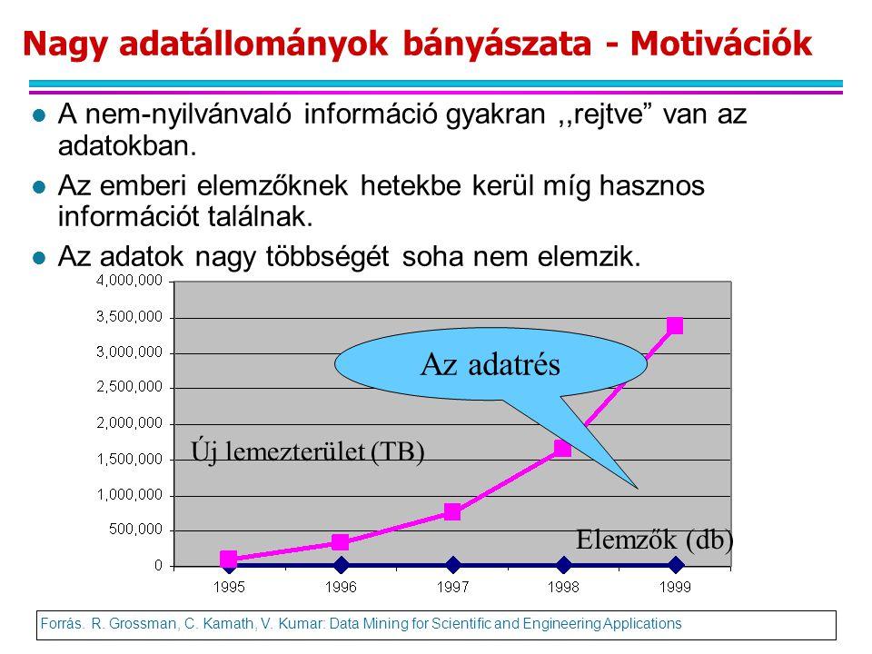 Nagy adatállományok bányászata - Motivációk