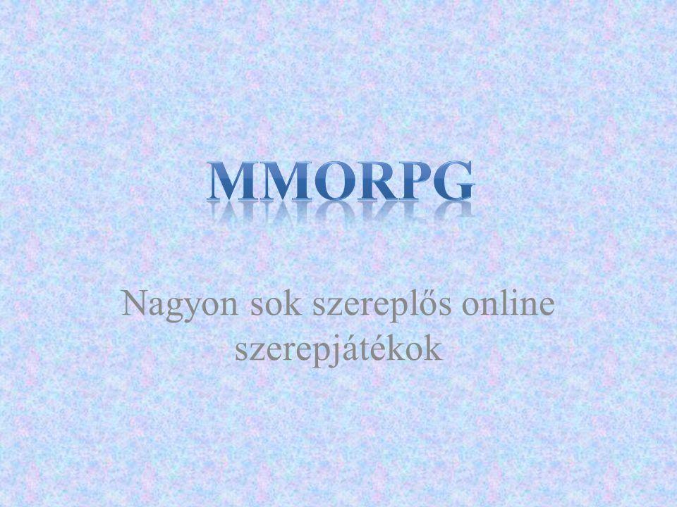 Nagyon sok szereplős online szerepjátékok