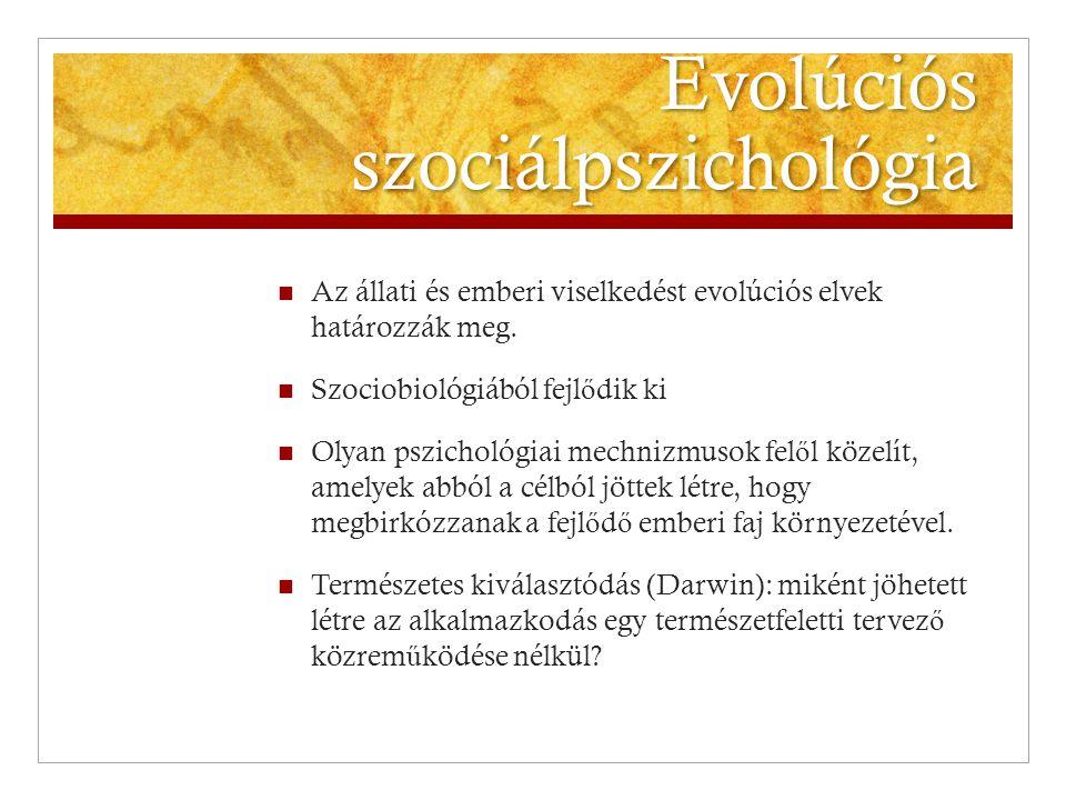 Evolúciós szociálpszichológia