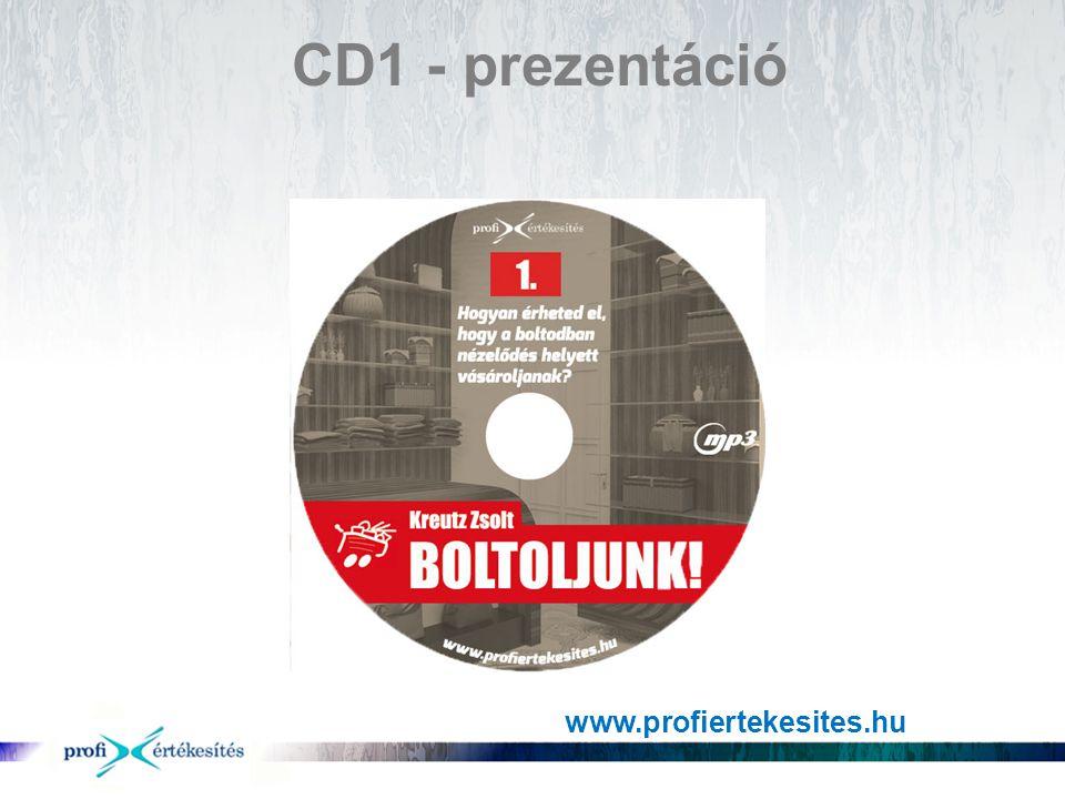 CD1 - prezentáció www.profiertekesites.hu