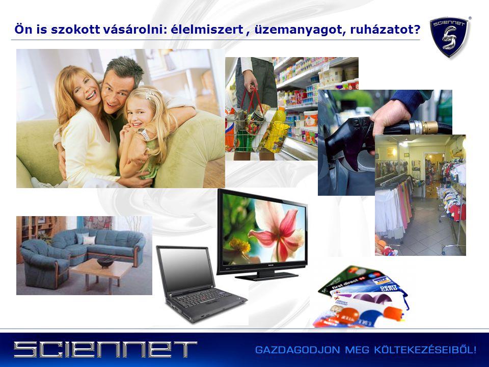 Ön is szokott vásárolni: élelmiszert , üzemanyagot, ruházatot