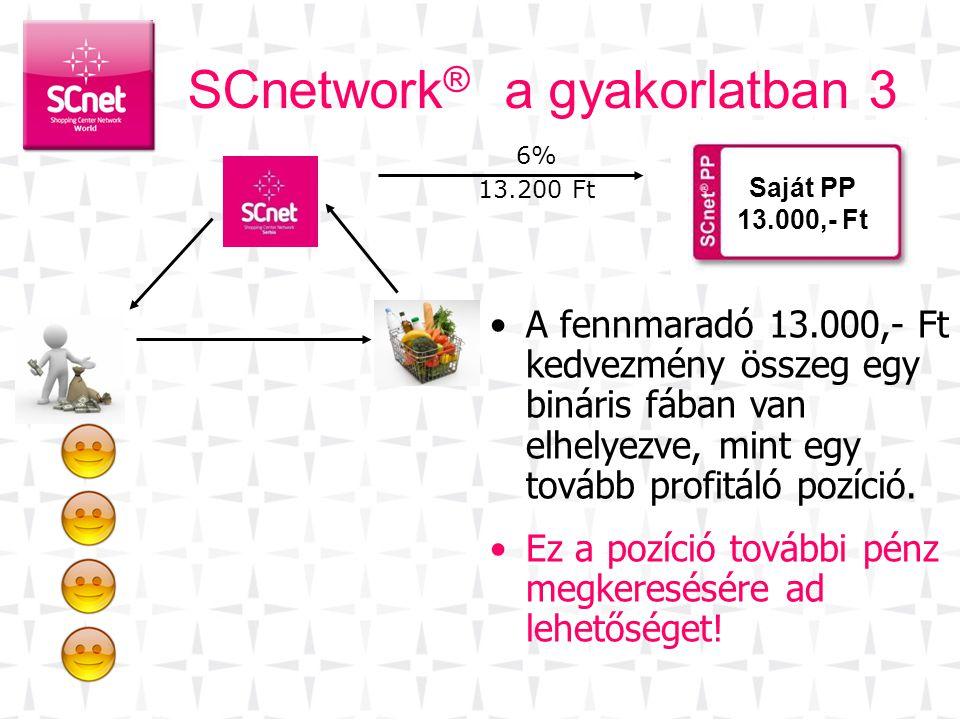 SCnetwork® a gyakorlatban 3