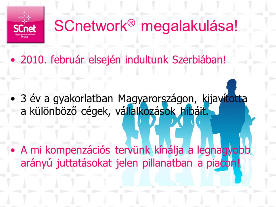 SCnetwork® megalakulása!