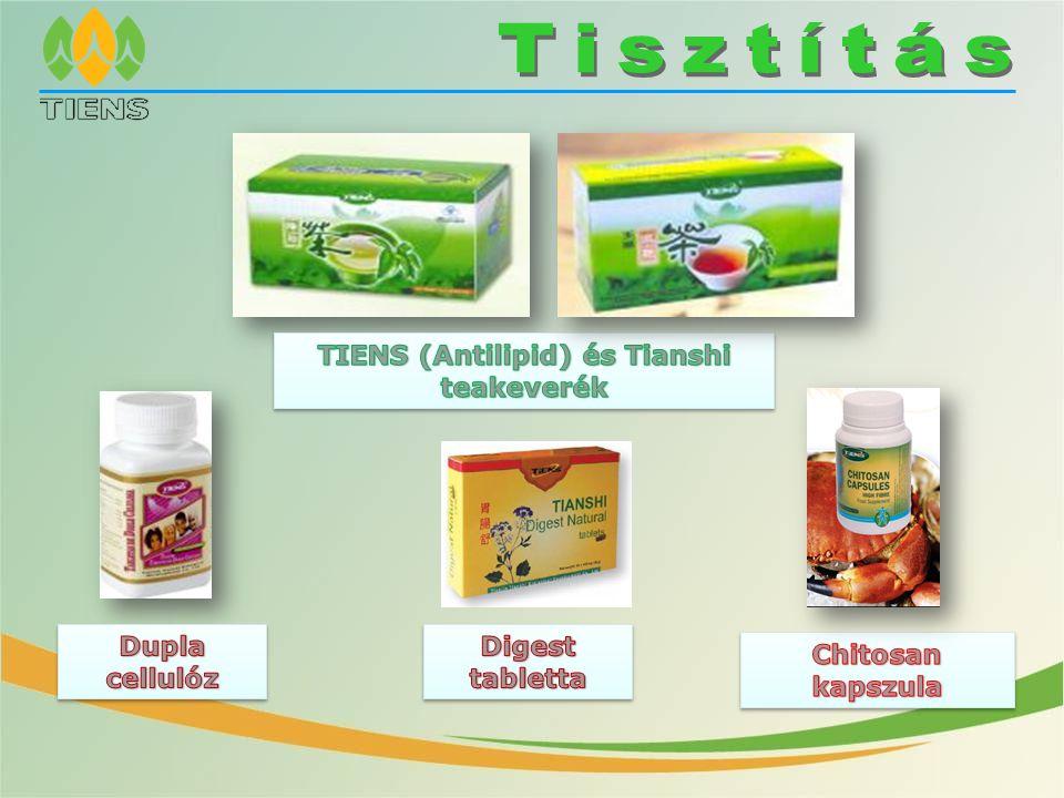 TIENS (Antilipid) és Tianshi teakeverék