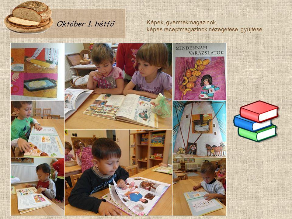 Október 1. hétfő Képek, gyermekmagazinok,