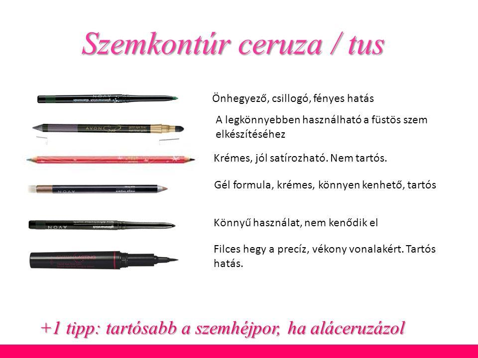 Szemkontúr ceruza / tus