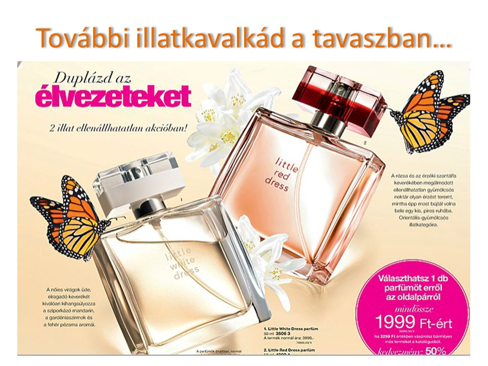 További illatkavalkád a tavaszban…