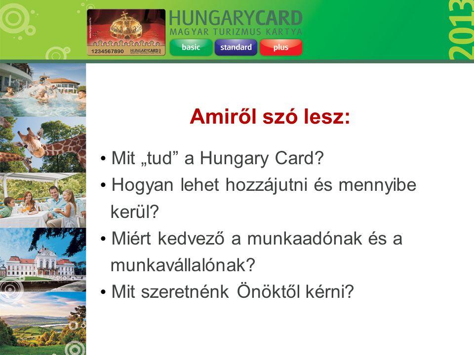 """Amiről szó lesz: Mit """"tud a Hungary Card"""