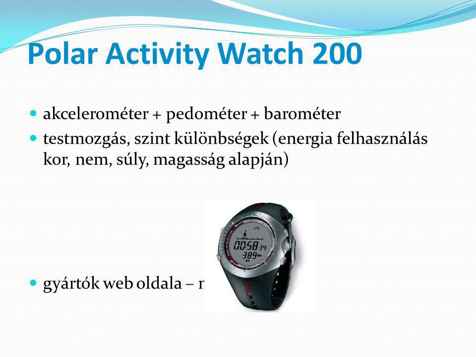 Polar Activity Watch 200 akcelerométer + pedométer + barométer