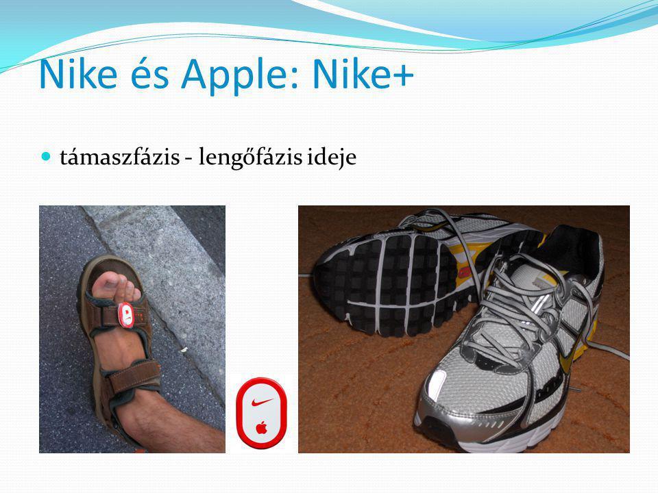 Nike és Apple: Nike+ támaszfázis - lengőfázis ideje