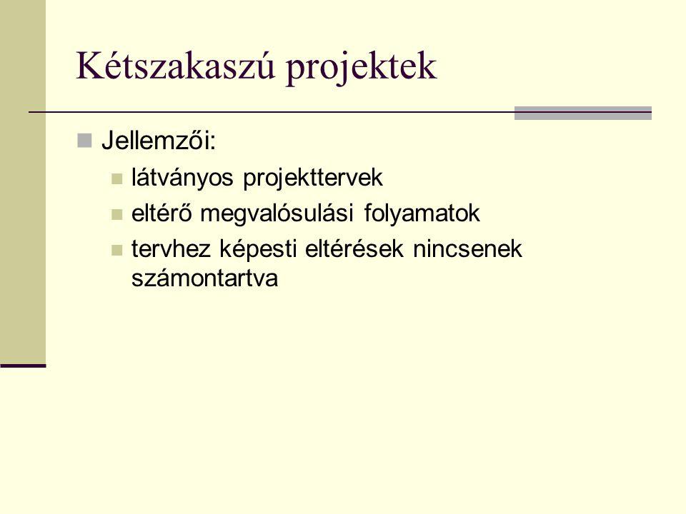 Kétszakaszú projektek