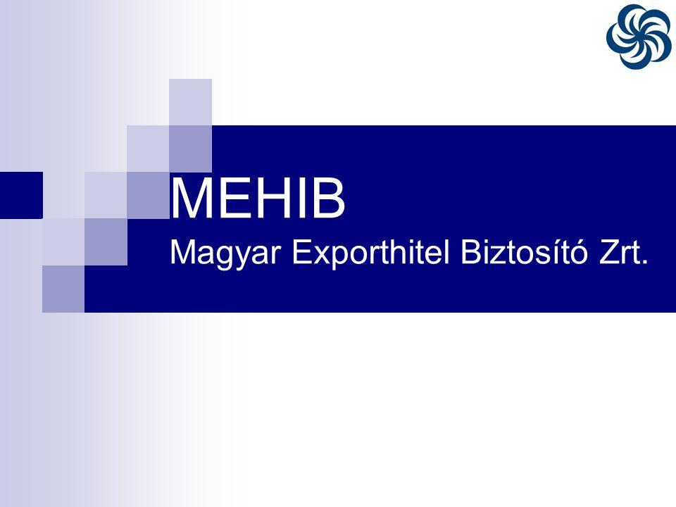 MEHIB Magyar Exporthitel Biztosító Zrt.