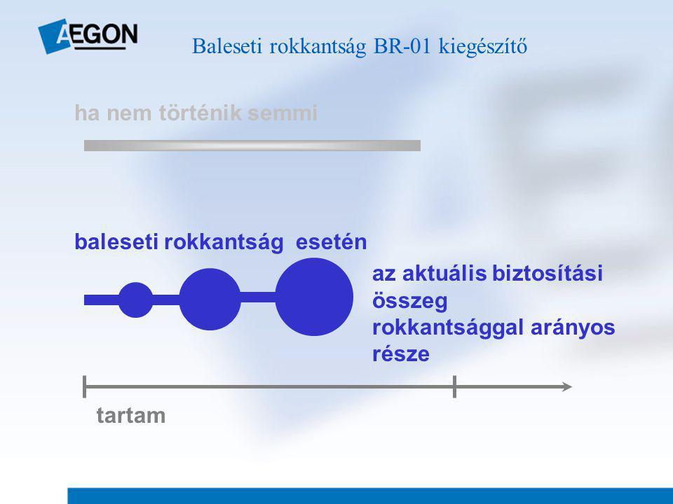 Baleseti rokkantság BR-01 kiegészítő