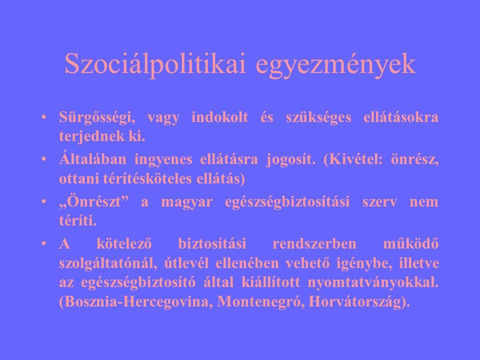Szociálpolitikai egyezmények