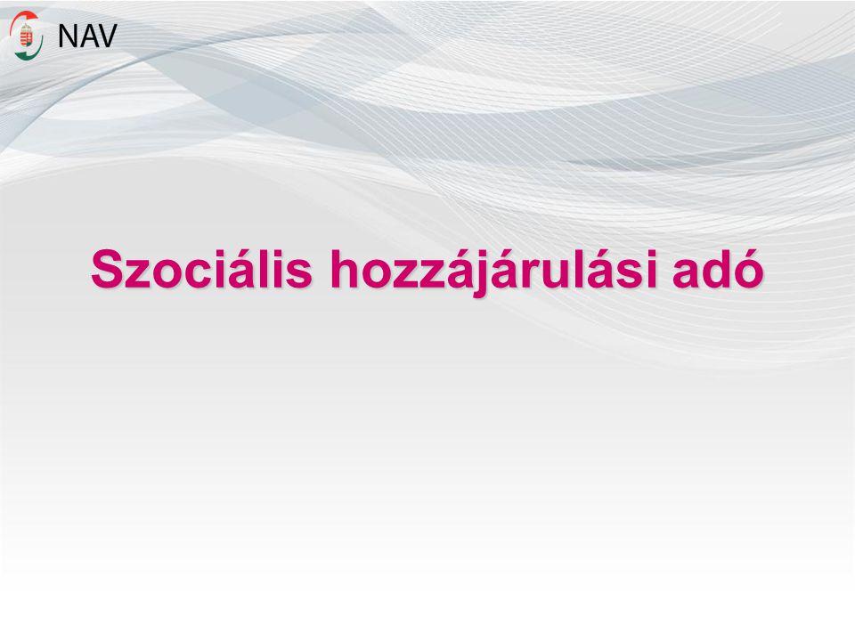 Szociális hozzájárulási adó