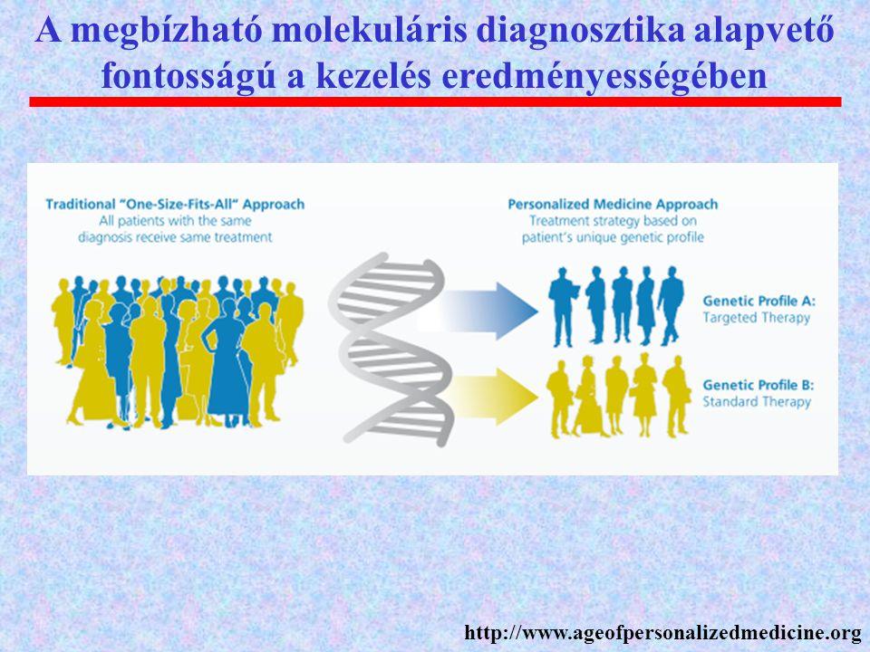 A megbízható molekuláris diagnosztika alapvető fontosságú a kezelés eredményességében