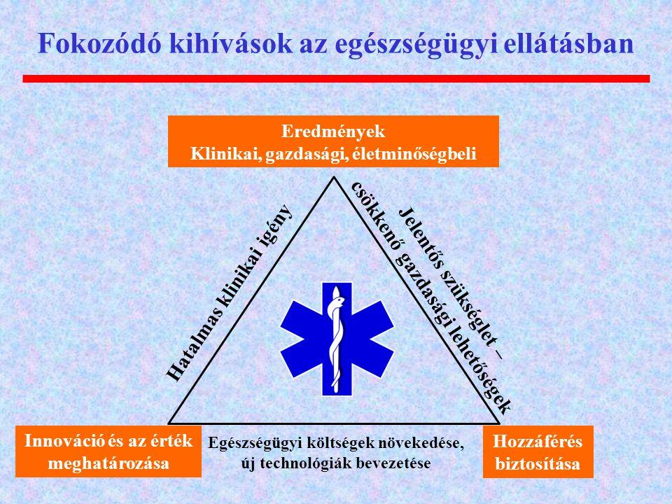 Fokozódó kihívások az egészségügyi ellátásban