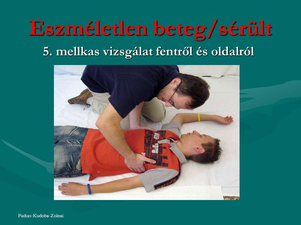 Eszméletlen beteg/sérült