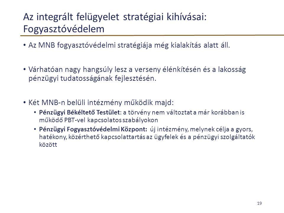 Az integrált felügyelet stratégiai kihívásai: Fogyasztóvédelem