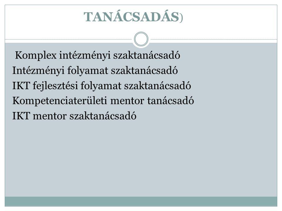 TANÁCSADÁS)