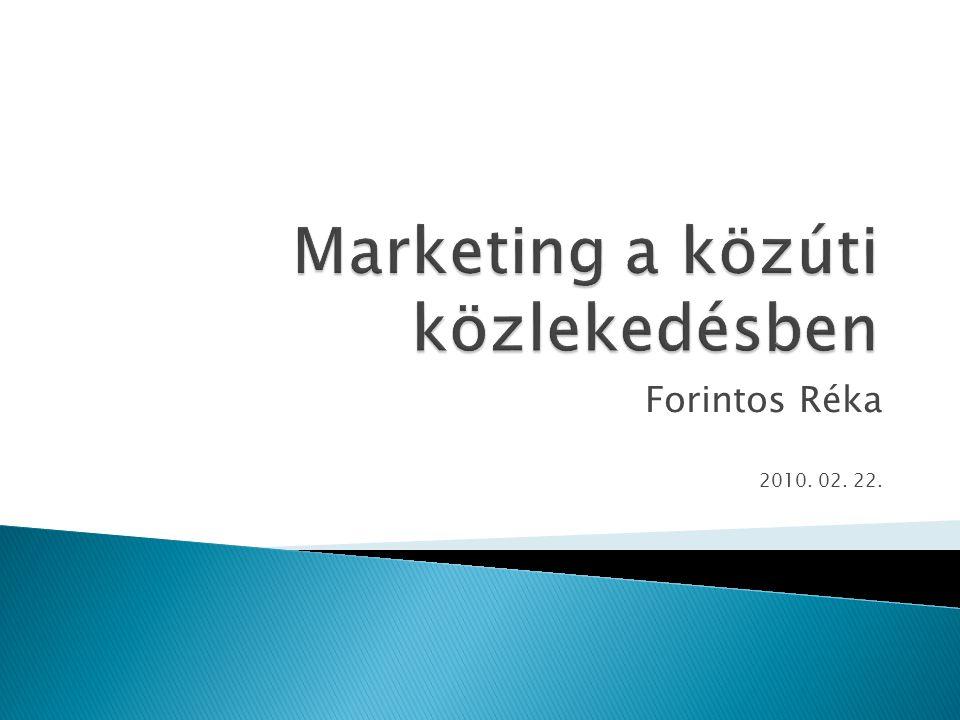 Marketing a közúti közlekedésben