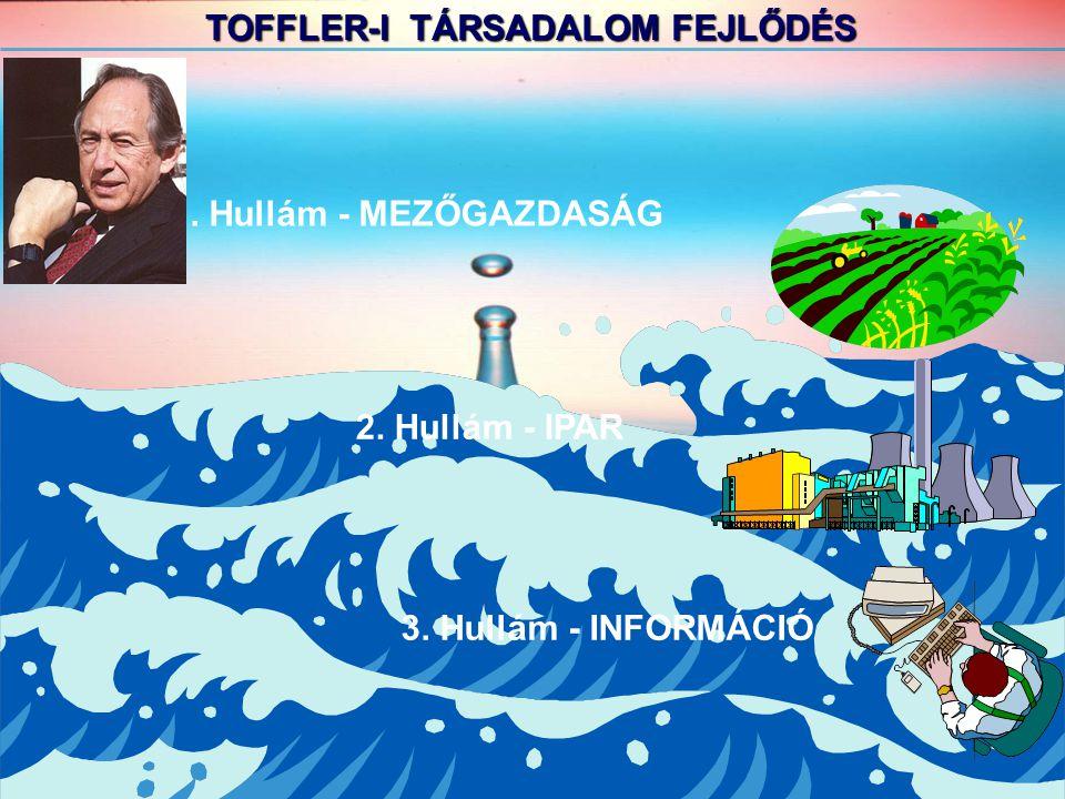 TOFFLER-I TÁRSADALOM FEJLŐDÉS