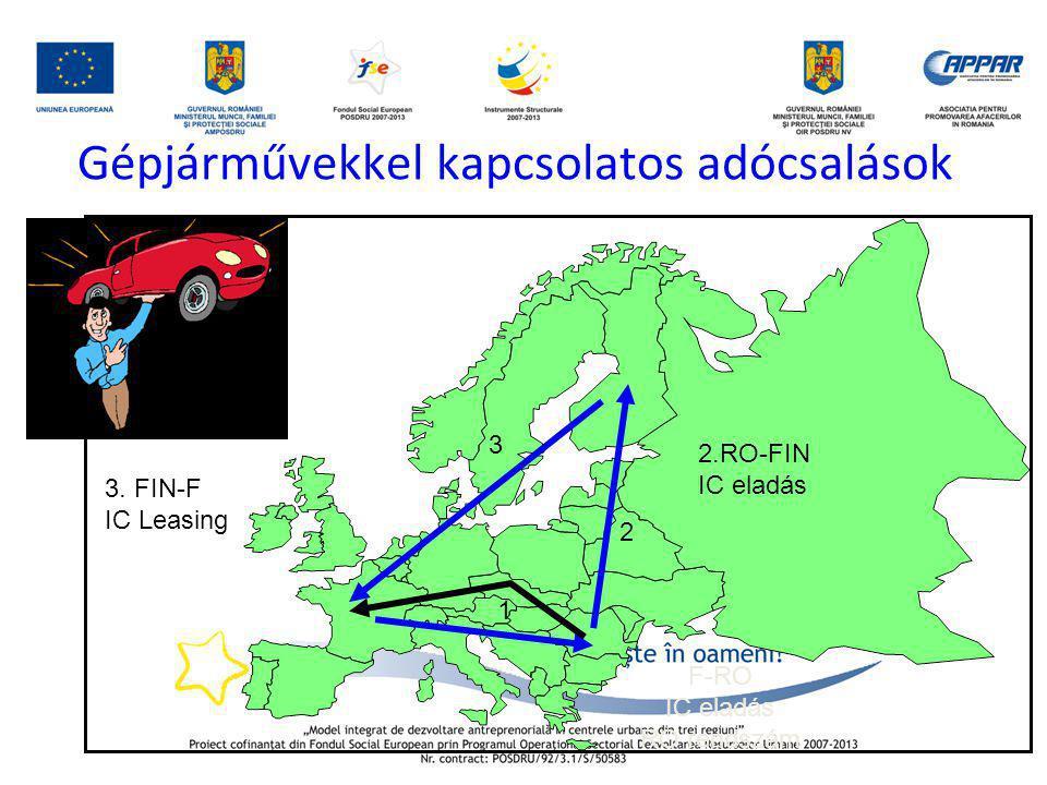 Gépjárművekkel kapcsolatos adócsalások