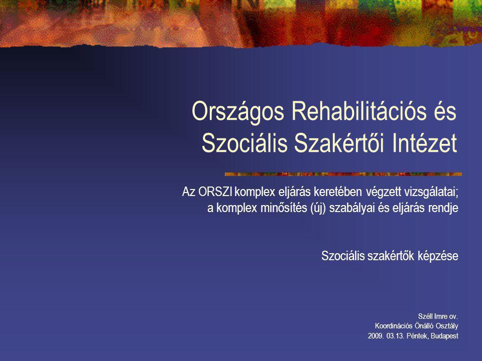 Országos Rehabilitációs és Szociális Szakértői Intézet