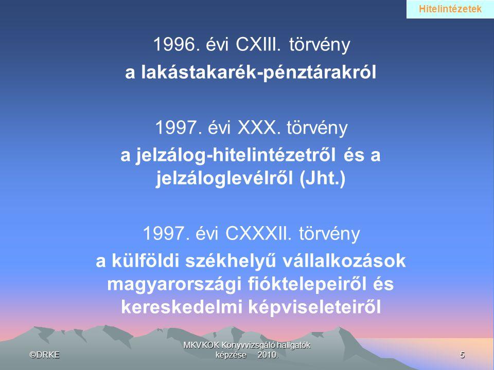 a lakástakarék-pénztárakról 1997. évi XXX. törvény