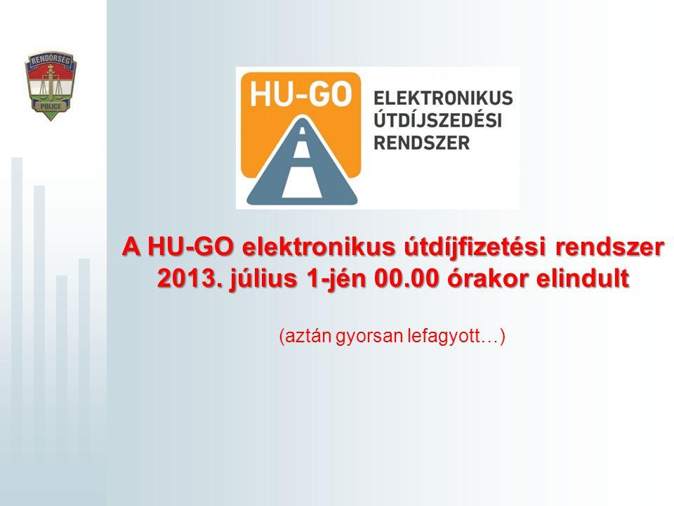A HU-GO elektronikus útdíjfizetési rendszer