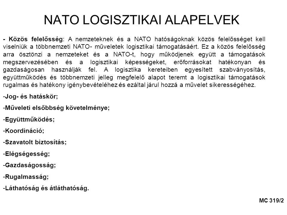 NATO LOGISZTIKAI ALAPELVEK