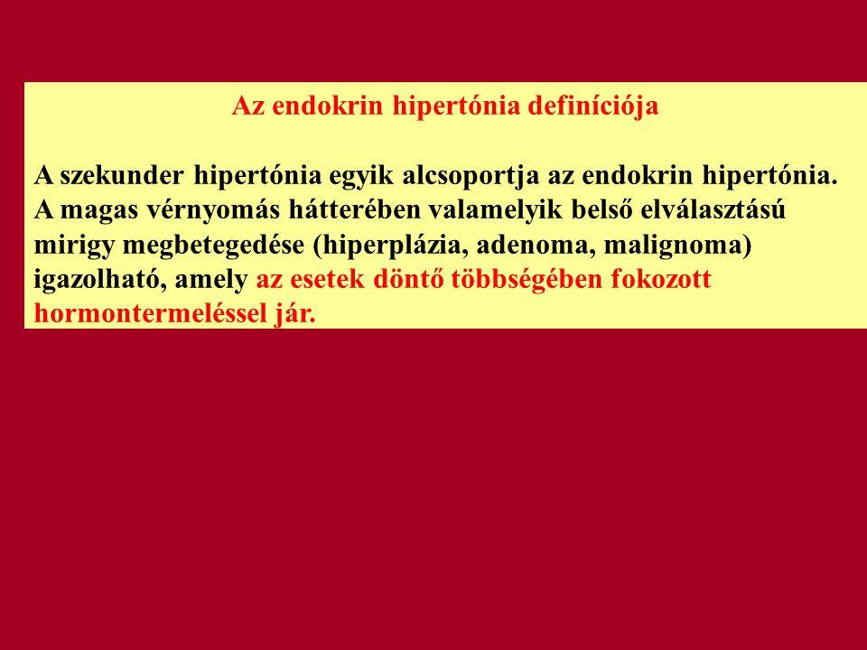 Az endokrin hipertónia definíciója