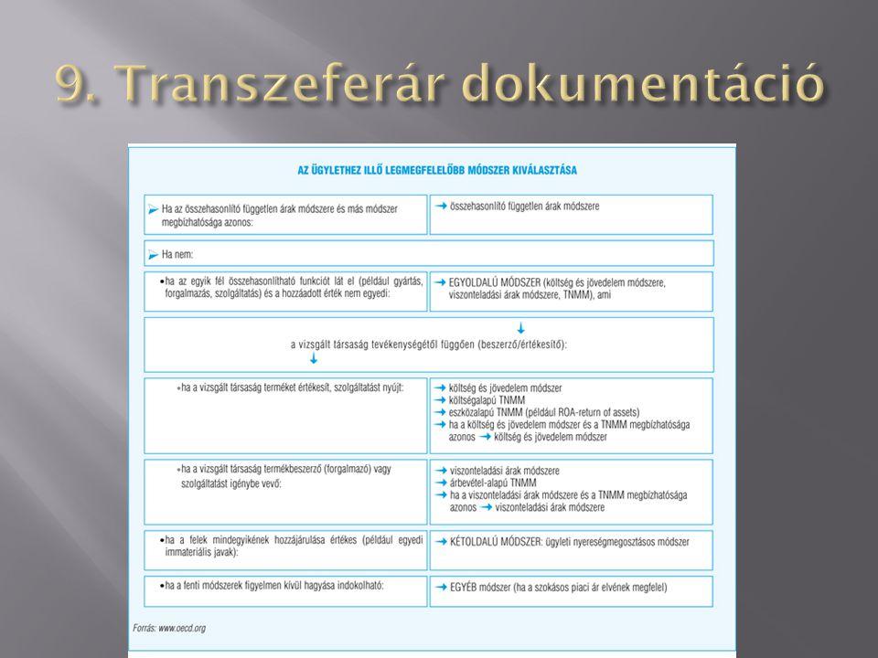 9. Transzeferár dokumentáció