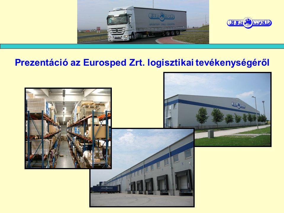 Prezentáció az Eurosped Zrt. logisztikai tevékenységéről