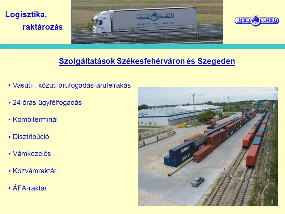 Szolgáltatások Székesfehérváron és Szegeden