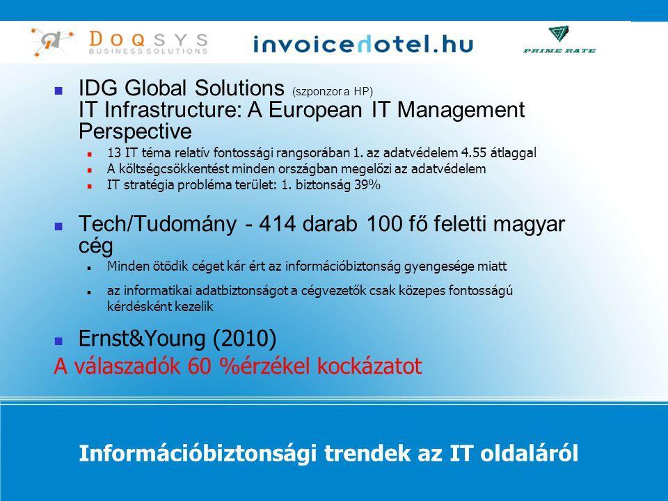 Információbiztonsági trendek az IT oldaláról