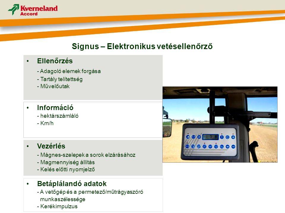 Signus – Elektronikus vetésellenőrző