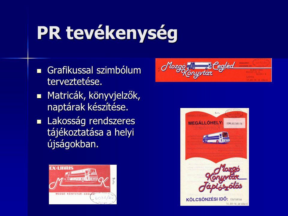 PR tevékenység Grafikussal szimbólum terveztetése.
