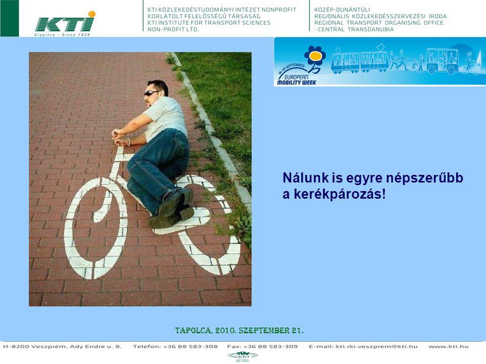 Nálunk is egyre népszerűbb a kerékpározás!