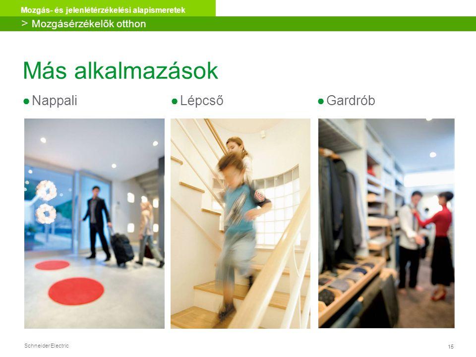Más alkalmazások Nappali Lépcső Gardrób > Mozgásérzékelők otthon