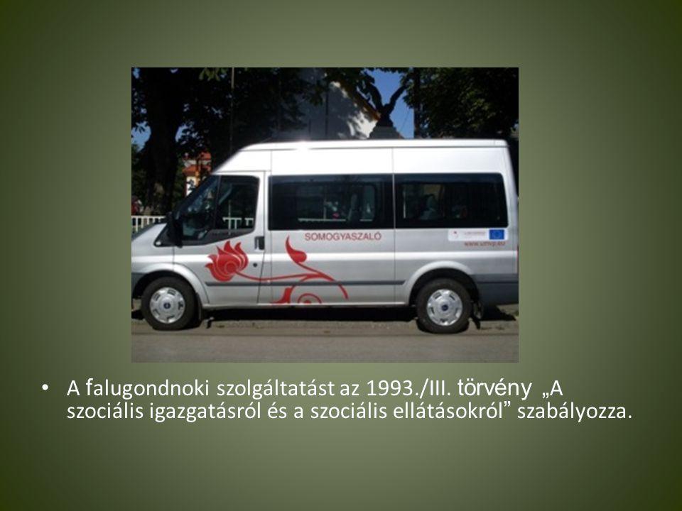 A falugondnoki szolgáltatást az 1993. /III