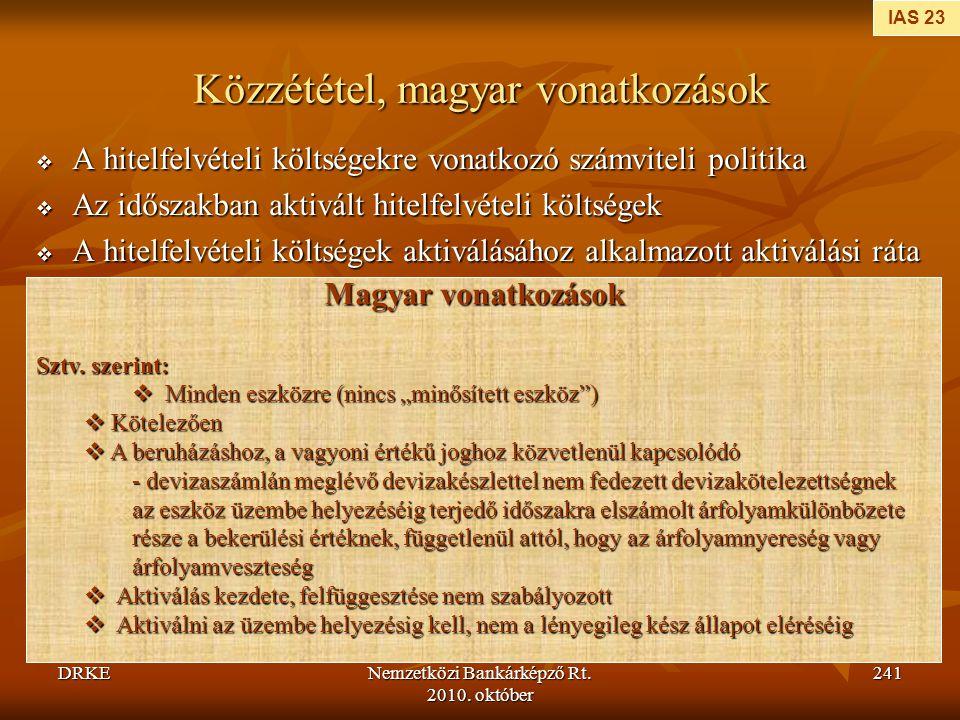 Közzététel, magyar vonatkozások