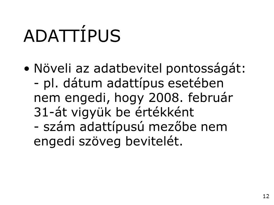 ADATTÍPUS