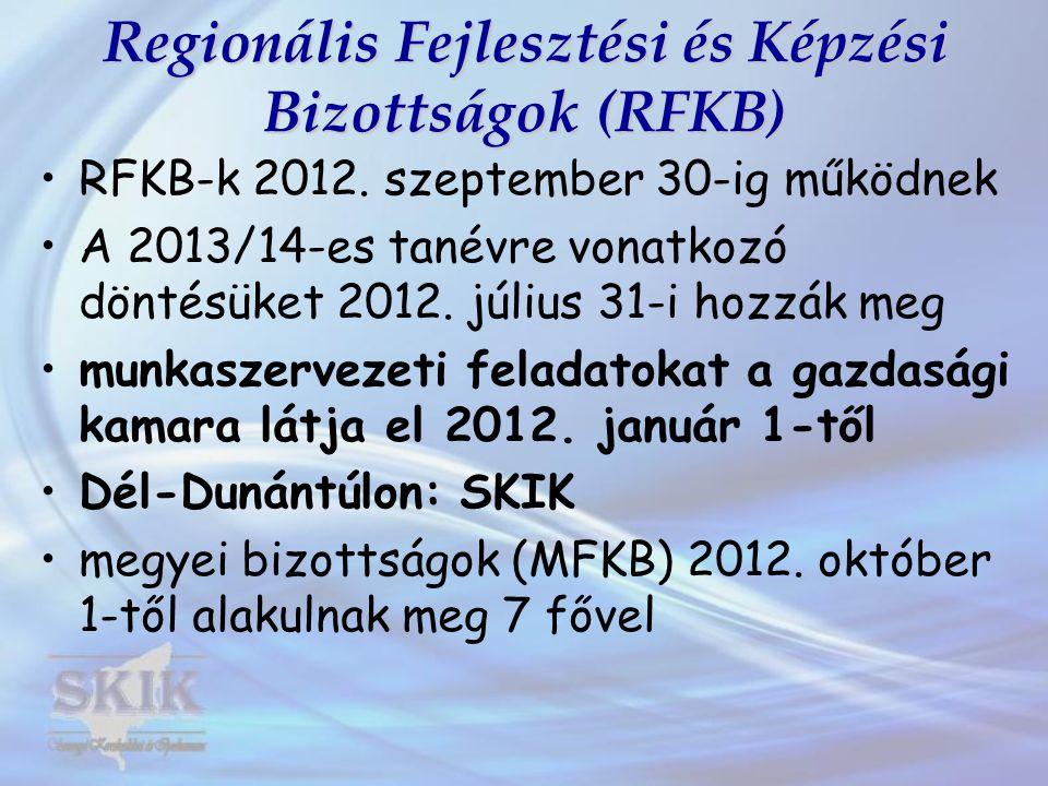 Regionális Fejlesztési és Képzési Bizottságok (RFKB)