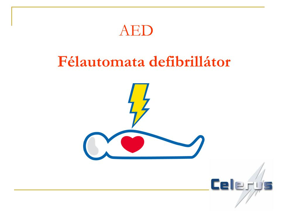 Félautomata defibrillátor