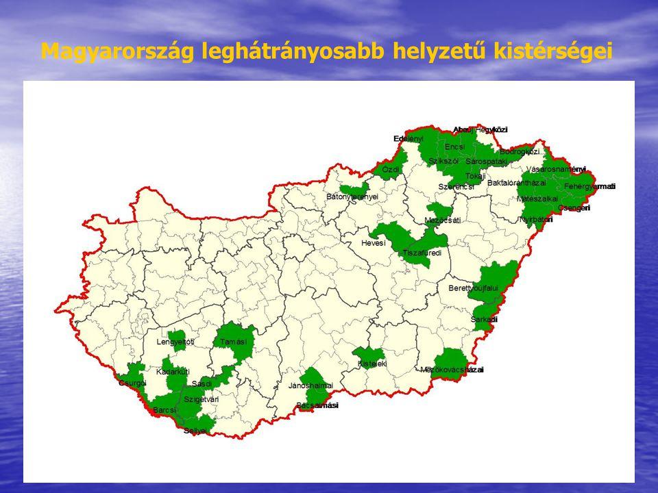 Magyarország leghátrányosabb helyzetű kistérségei