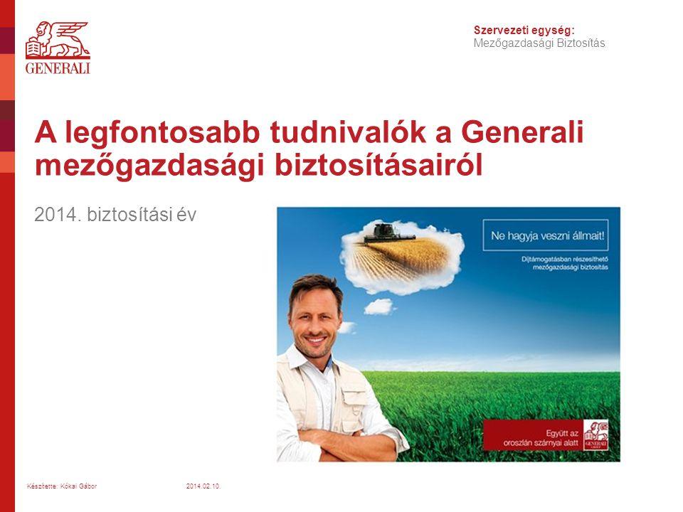 A legfontosabb tudnivalók a Generali mezőgazdasági biztosításairól